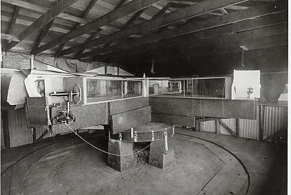 Miller's Interferometer at Mount Wilson
